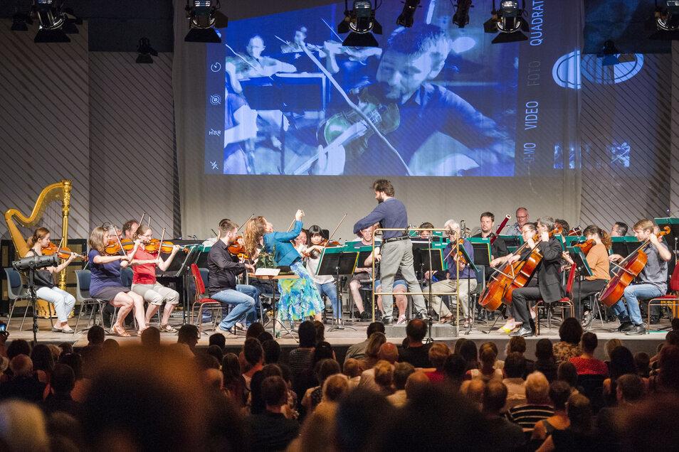 Generalprobe in der Konzertscheune im Gohrisch im Rahmen der Schostakowitsch-Festtage 2019 mit der Staatskapelle Dresden.