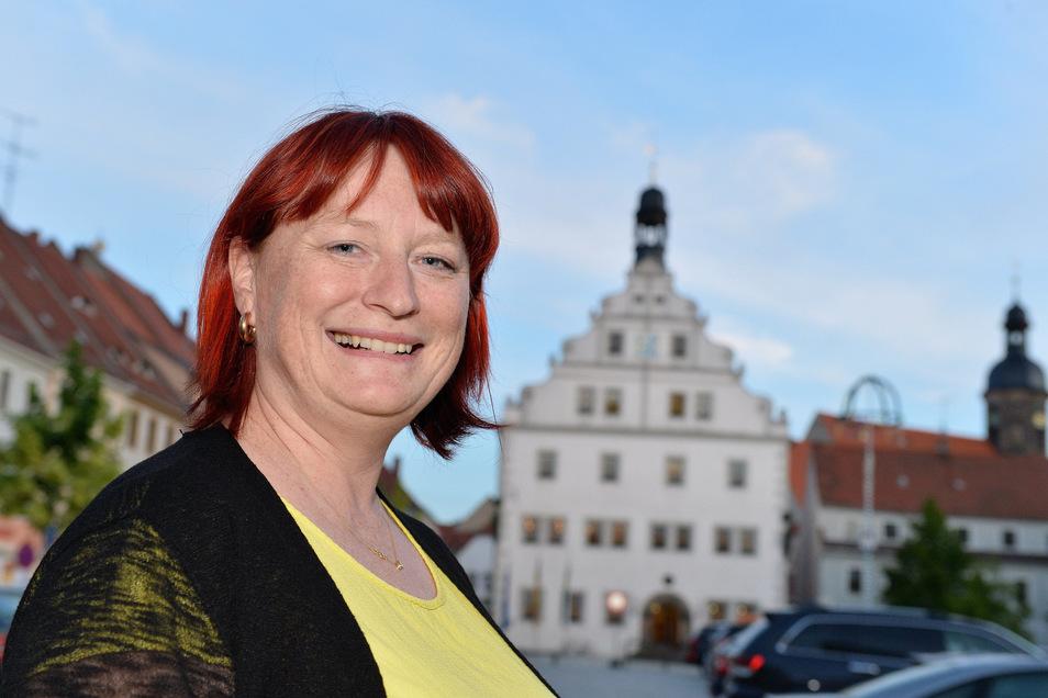 Die Dippser Oberbürgermeisterin Kerstin Körner ist optimistisch, dass die Stadt dieses Jahr schon zeitig finanziell handlungsfähig wird.