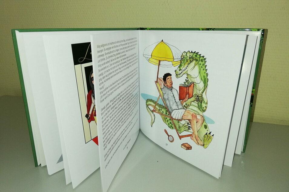 Fünftklässler vom Augustum-Annen-Gymnasium Görlitz schrieben während des Lockdowns ein Märchenbuch über Corona-Helden.