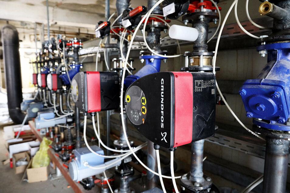 Die Pumpenanlagen mussten nach zwei Jahrzehnten Dauerbetrieb komplett ausgetauscht werden.