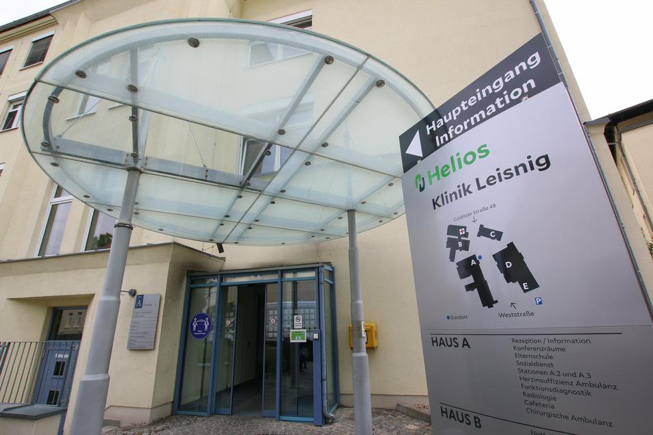 Die Helios-Klinik Leisnig spricht ein Besuchsverbot aus.