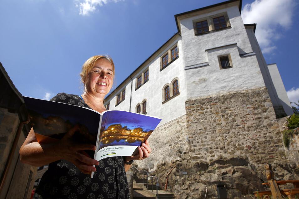 Auch in das Museum Schloss Klippenstein erhalten  Inhaber der sächsischen Ehrenamtskarte vergünstigten Eintritt.