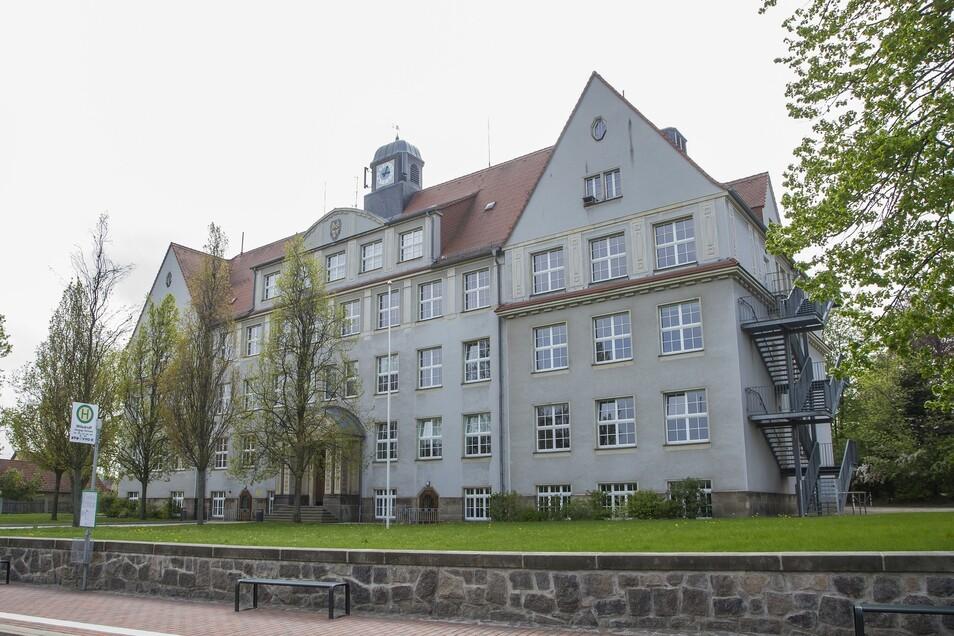 Noch reichen die Plätze an der Oberschule in Wilsdruff.