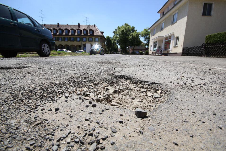 Die mehrfach verschobene Instandsetzung der Straße Am Markt soll nun im Jahr 2022 in Angriff genommen werden.
