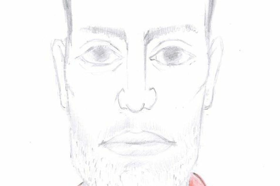 Die Polizei sucht Zeugen, die Angaben zur Identität des Unbekannten machen können.