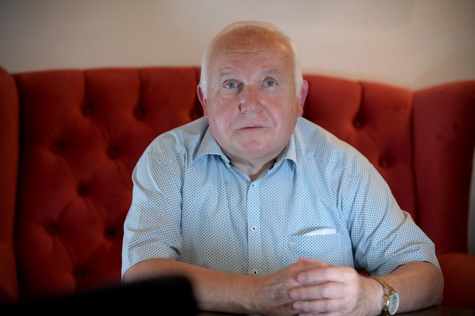 Löbaus Ex-OB Dietmar Buchholz war schon mal Bürgermeister in Lawalde. Nun erwägt er, für dieses Ehrenamt in Lawalde nochmals zu kandidieren.