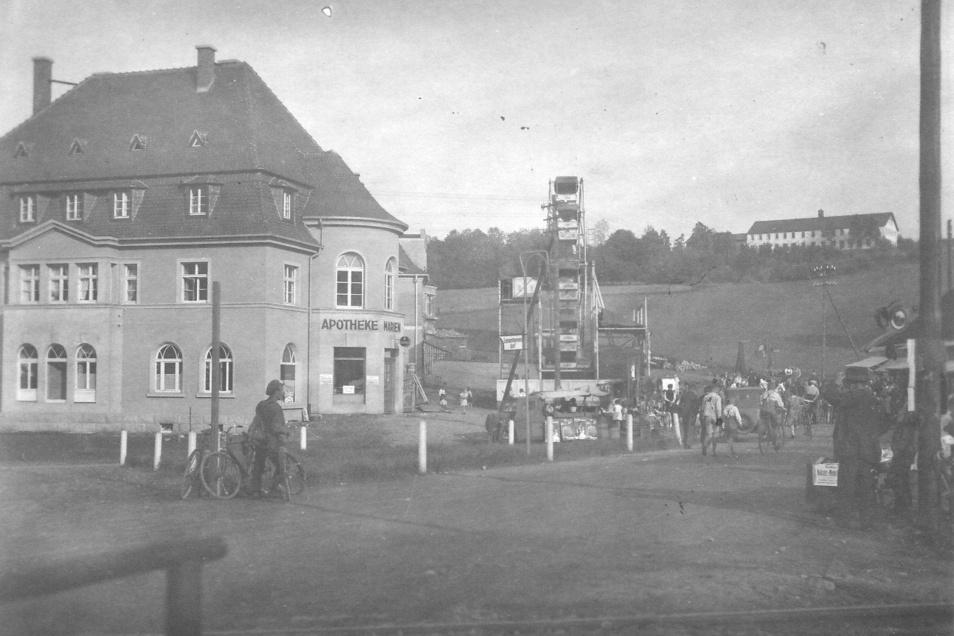 Dieses Foto muss aus der Zeit der Eröffnung des Geschäfts von Urgroßvater Hauswald um 1928/29 stammen.