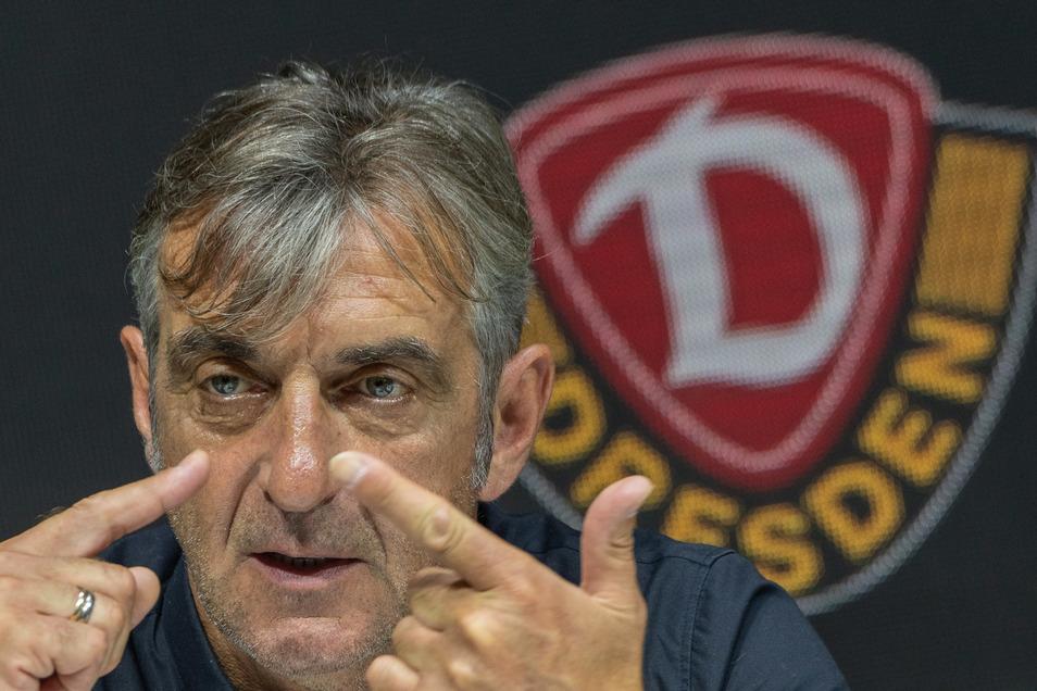 Kaum jemand hat Dynamo nach der Karriere als Spieler so geprägt wie Ralf Minge. Seit sechs Jahren ist er als Sportgeschäftsführer für die sportliche Entwicklung verantwortlich. Sein Vertrag endet am 30. Juni.