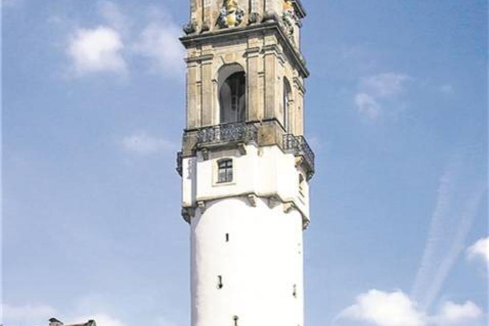 Reichenturm: Heute ein beliebtes Touristenziel, früher das Verlies für zänkische Weiber. Fotos: Robert Michalk