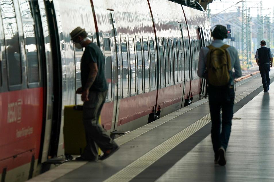 Größere Nachwehen des zweitägigen Streiks der Gewerkschaft der Lokführer (GDL) bei der Deutschen Bahn blieben am Wochenende in Sachsen aus.