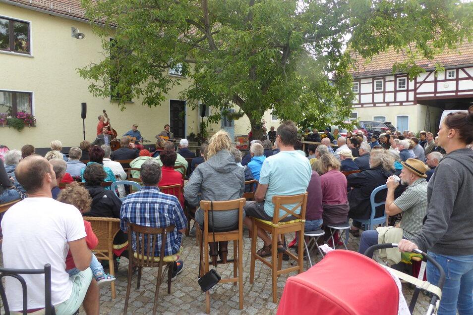 Der Saxstall Pohrsdorf ist erneut für sein Musikangebot ausgezeichnet worden.