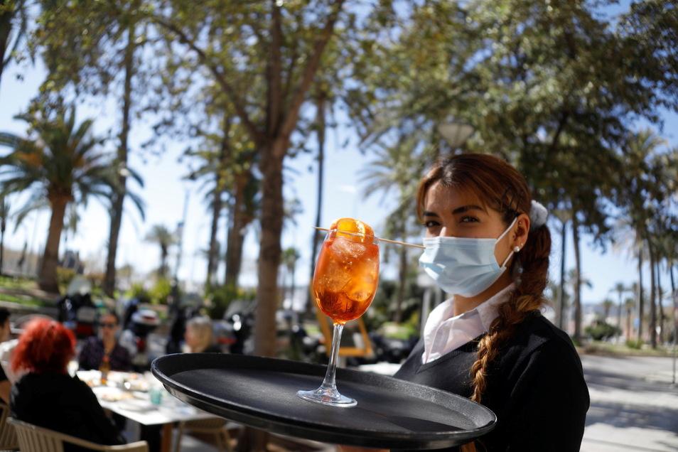 Auf Mallorca haben die Gastronomen wieder Gäste.