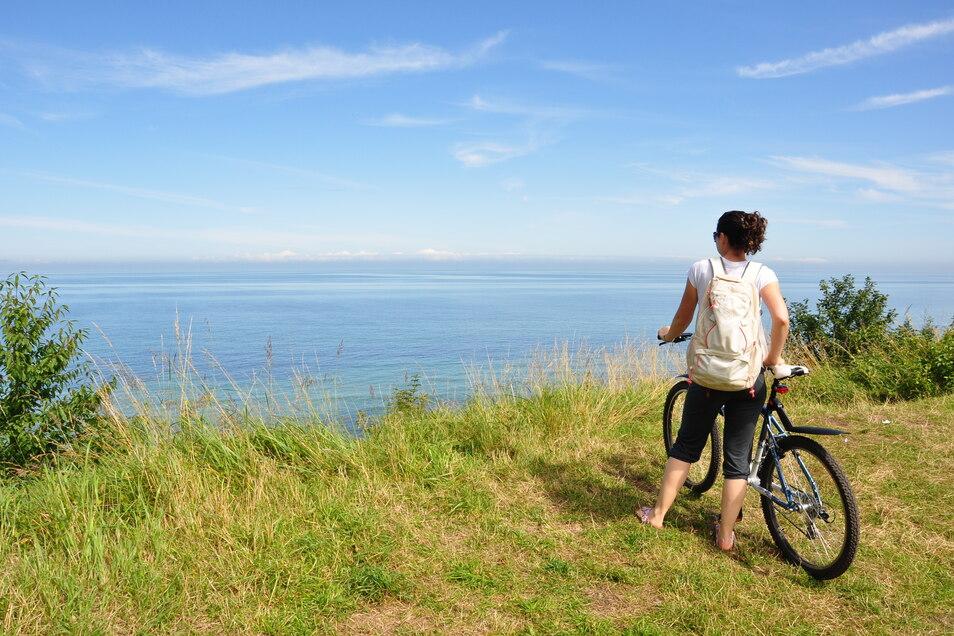 Auf dem N8 Radweg an der dänischen Ostseeküste gibt es viel zu sehen.
