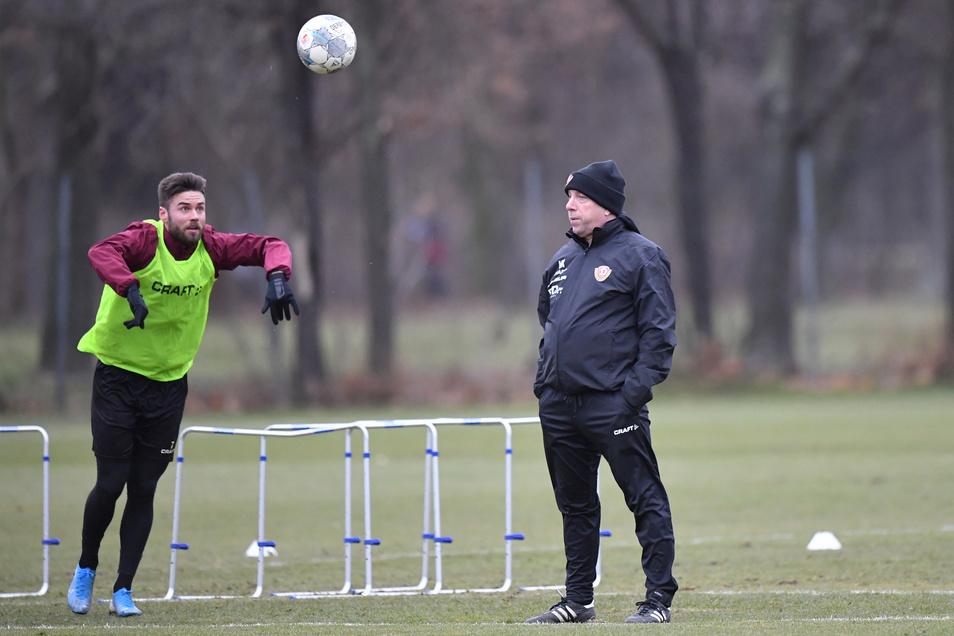 Niklas Kreuzer steht derzeit bei Dynamo vor allem medial im Mittelpunkt - und unter besonderer Beobachtung von Cheftrainer Markus Kauczinski.