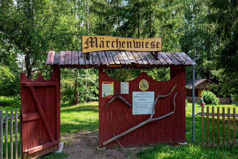 Die Märchenwiese in Reinhardtsgrimma ist wieder geöffnet. Besucher sollten einiges beachten.