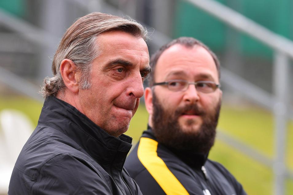 Jetzt sind sie beide Ex: Ralf Minge und Martin Börner arbeiteten viele Jahre bei Dynamo eng zusammen.
