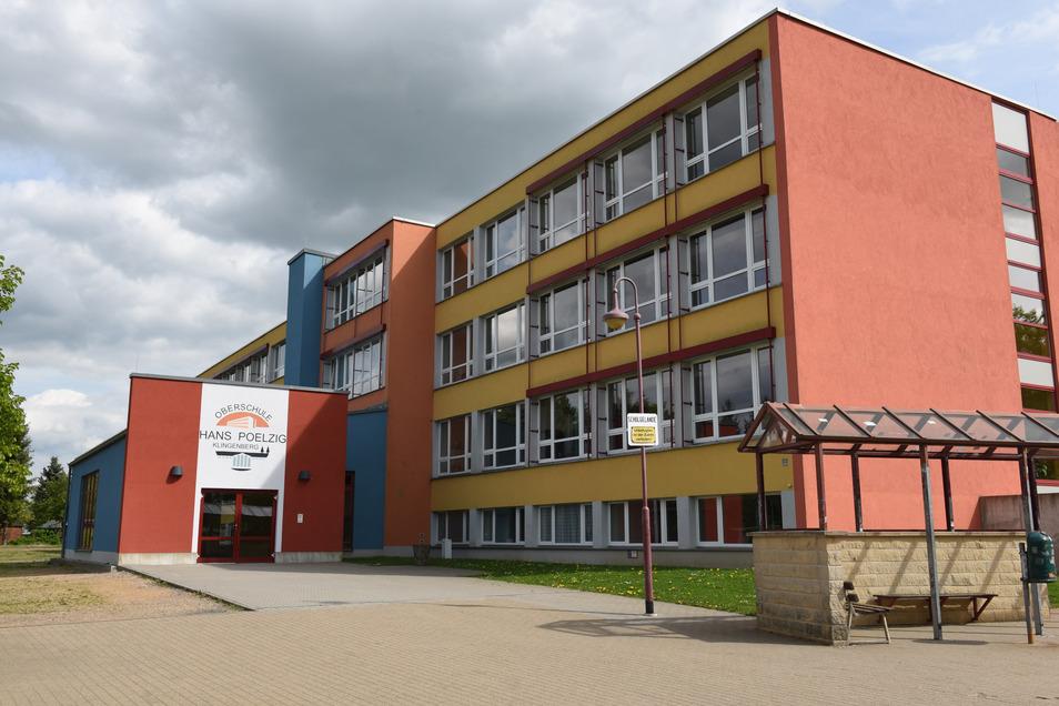 Die Oberschule Klingenberg ist ein Farbtupfer im Ort. Aber ob ihr Platzangebot und die Sporthalle künftigen Anforderungen genügen, ist nicht sicher.