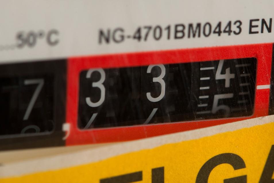 Vor allem beim Gas haben sich die Preise verteuert.