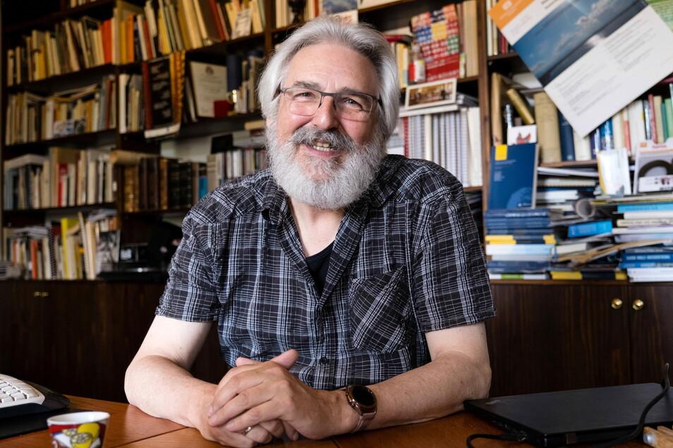 """Matthias Theodor Vogt ist der """"Erfinder"""" des Kulturraumgesetzes in Sachsen, das 1994 in Kraft trat. Er leitet das Institut für Kulturelle Infrastruktur in Sachsen an der Hochschule Zittau/Görlitz."""