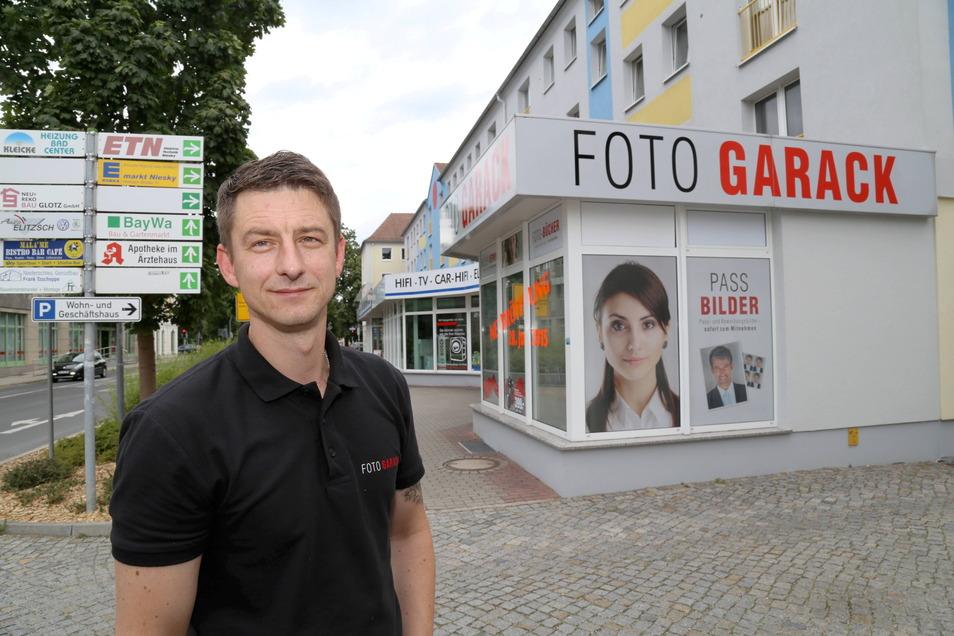 Viele Nieskyer kennen Uwe Garack noch als Foto-Experten, der mit seinem Geschäft zuerst in der Horkaer Straße und später in der Görlitzer Straße vertreten war.
