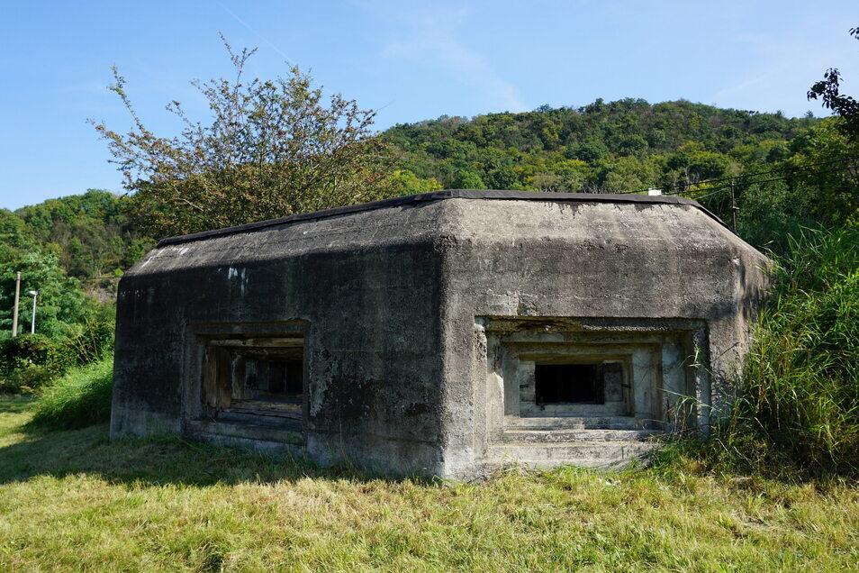 Der Bunker aus dem Jahr 1936 gehörte zu den ersten, die die Tschechoslowakei zur Verteidigung gegen einen deutschen Angriff baute.