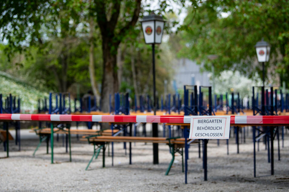Bayerns Biergärten dürfen bald wieder öffnen.