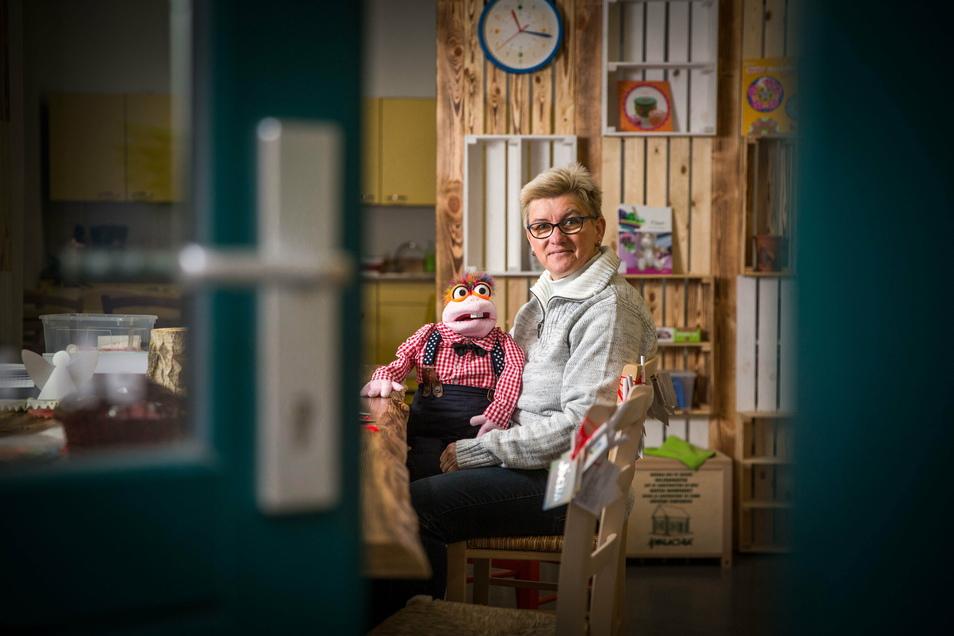 Manuela Beßer eröffnete erst im Oktober ihren Kinder-Service Jocus auf der Konkordienstraße. Bald darauf musste sie schließen. Dabei hat sie noch einiges vor.