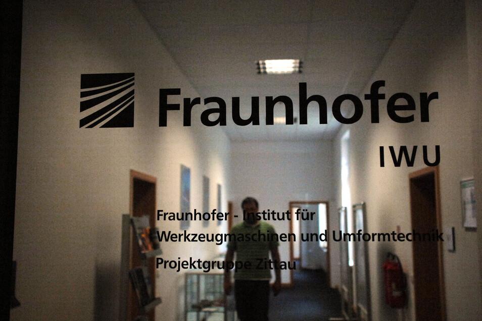 Ein Blick ins Fraunhofer-Kunststoffzentrum am Zittauer Ring.