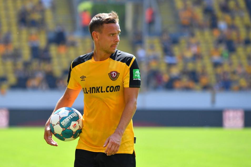 Chris Löwe ist mit seinen jetzt 32 Jahren so gut in Form wie lange nicht und für Dynamo extrem wichtig.
