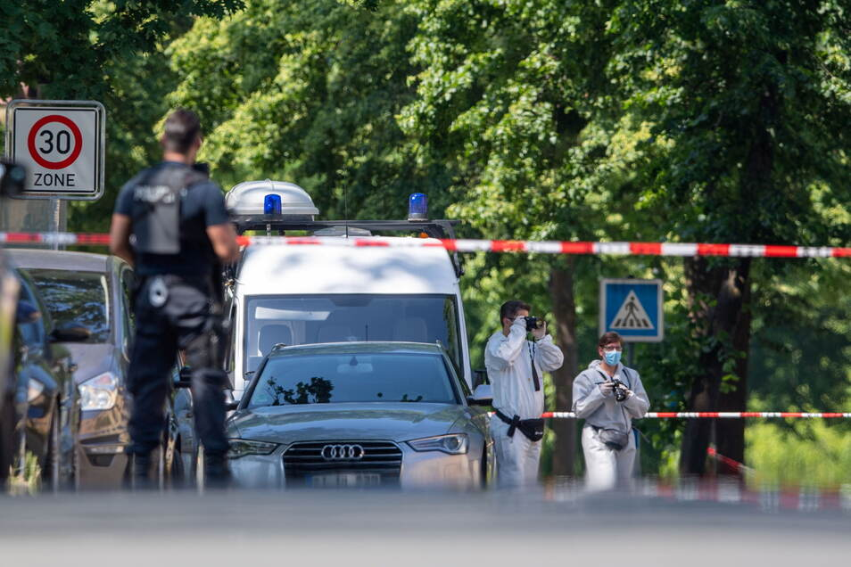 In Espelkamp sind zwei Menschen erschossen worden. Der mutmaßliche Täter wurde gefasst.