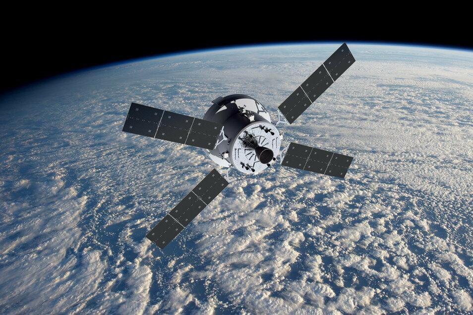 Dieses Teil soll die Amerikaner zum Mond bringen, gebaut bei Airbus in Bremen. Die europäische Raumfahrtagentur Esa hat am Dienstag drei weitere Servicemodule bestellt und bekommt dafür Mitflugtickets der Nasa.