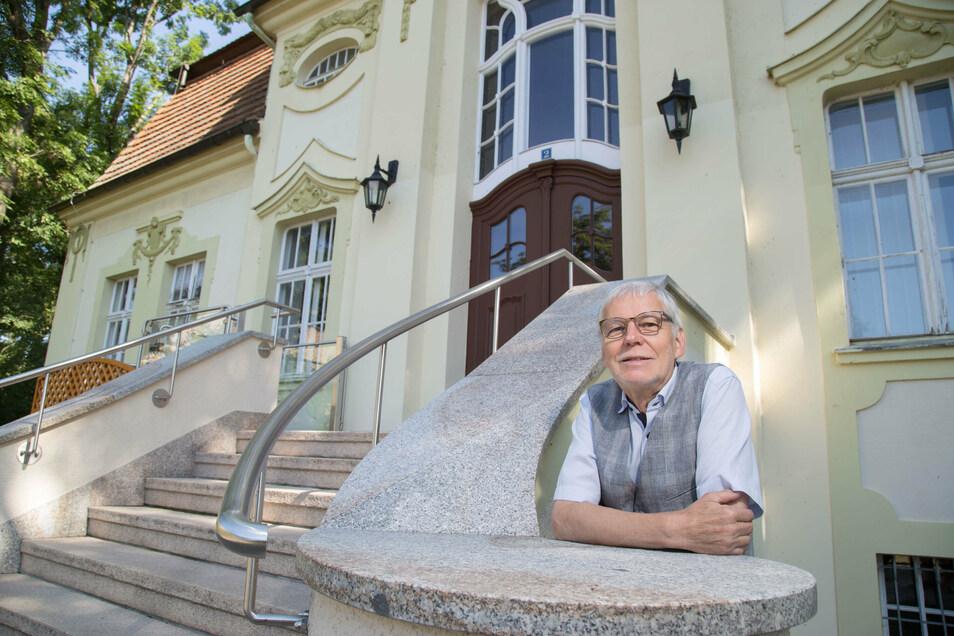 Seit 30 Jahren ist Christian Nitschke Bürgermeister von Horka. Damit ist er der Gemeindechef mit der längsten Amtszeit im Raum Niesky.