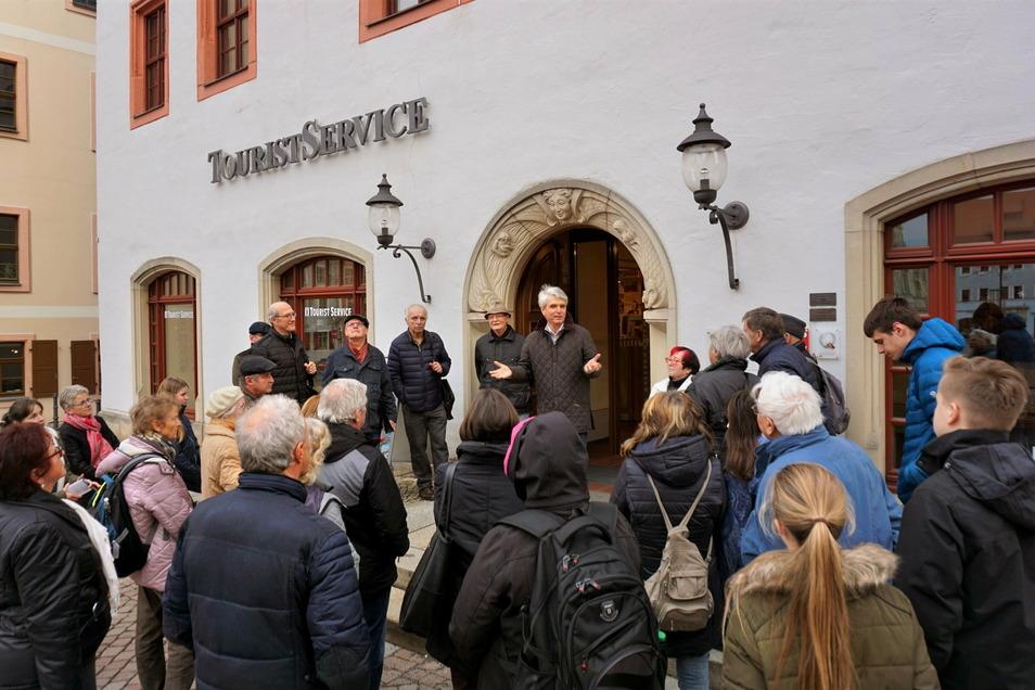 Stadtführung in Pirna: Hoffnung, dass es im Sommer weitergeht.