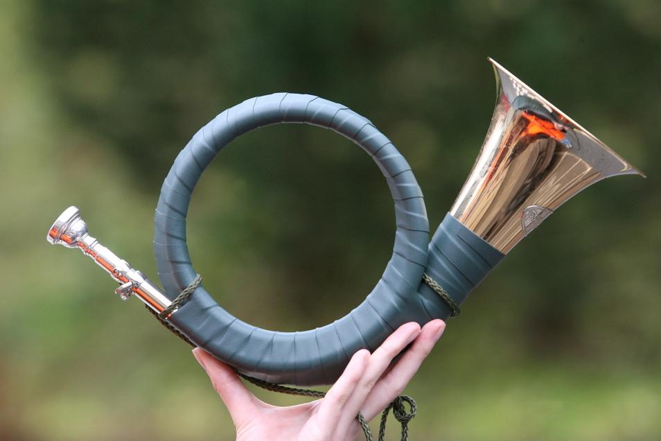So ähnlich wie dieses sieht auch das gestohlene Jagdhorn aus.