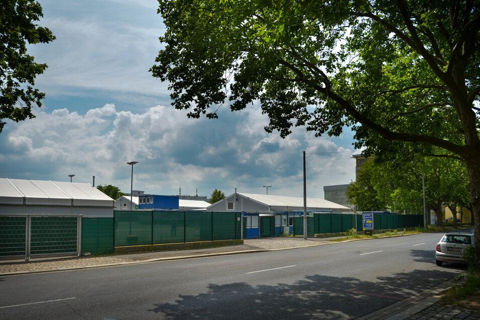 Für Globus im Gespräch ist eine Fläche an der Bremer Straße. Dort befindet sich derzeit noch eine Flüchtlingsunterkunft.