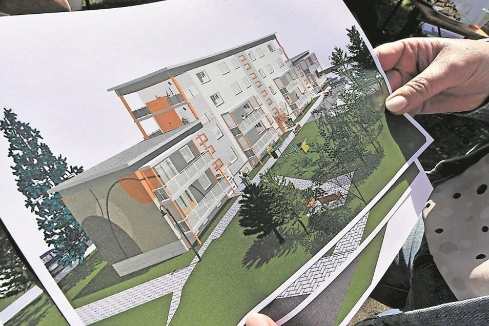 Wohnqualität bestimmt Lebensqualität. Nach dem Richtfest im Mai soll das teilweise zurückgebaute Gebäude in der Humboldtstraße 2 bis 6 in Weißwasser bis Jahresende bezugsfertig sein – als modernes Stadthaus. Rund 1,6 Millionen Euro investiert die