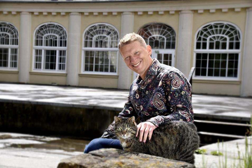 Seit 2016 saniert Jens Hewald das Parkhotel. Verdient hat er mit seinem Objekt noch nichts.
