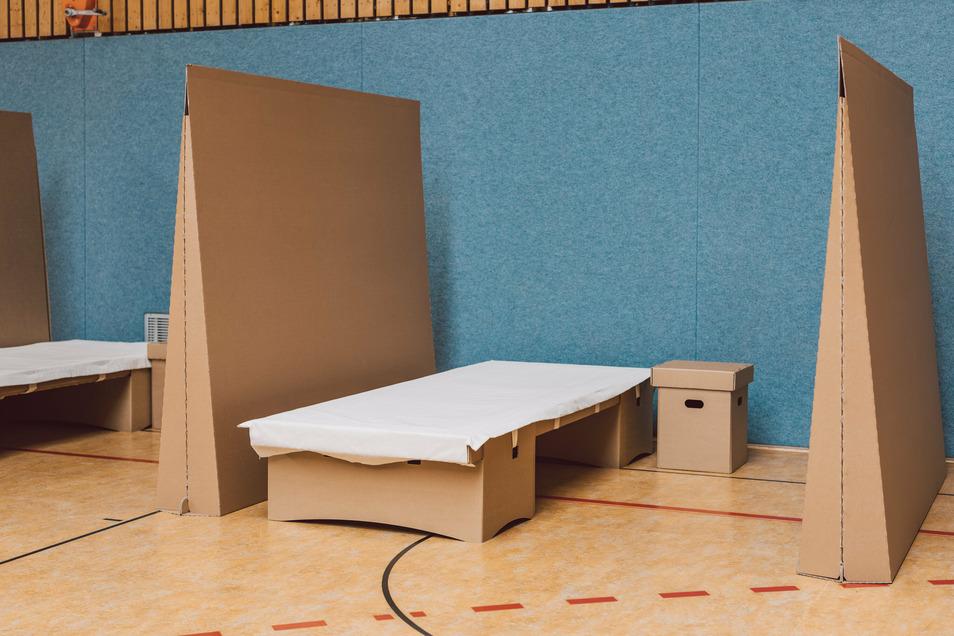 Auch Trennwände und Hocker samt Deckel und Stauraum wurden entwickelt.