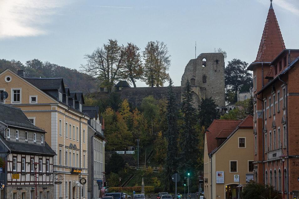 Tharandt ist Stadt der Nachhaltigkeit. Hier findet aller zwei Wochen auch der Naturmarkt mit regionalen Produkten statt.