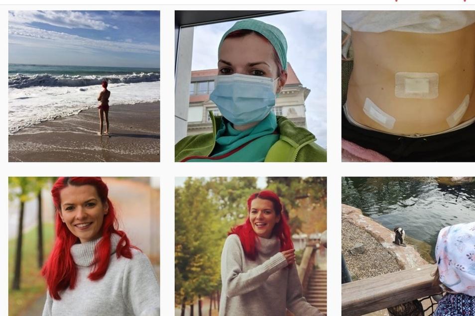 Auf Instagram folgen mehr als 12.000 Menschen der früheren Krankenschwester.