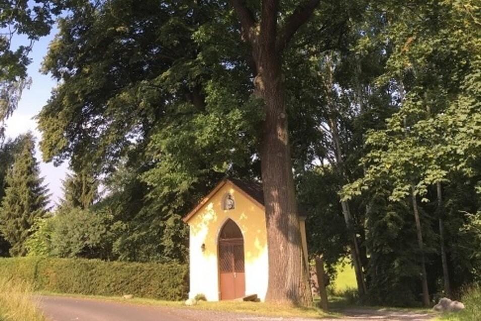 Kleine Kapelle in Cannewitz