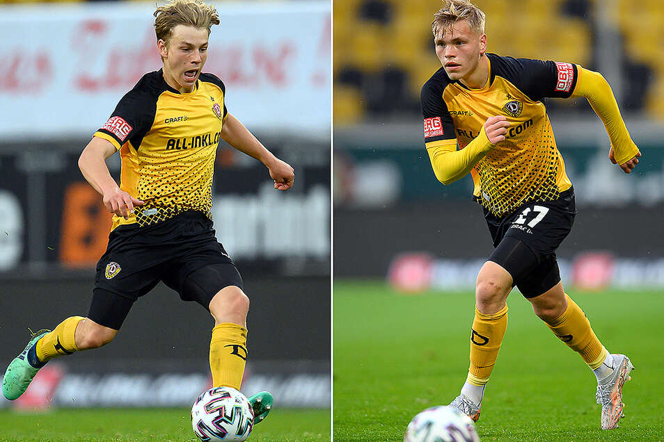 Jonas Oehmichen (l.) bekommt einen langfristigen Vertrag, Jonas Kühn wird nach Großaspach ausgeliehen.
