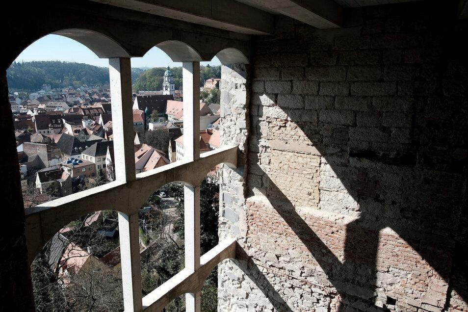 Diesen Blick von der Südseite des Burgbergs gab es im vergangenen halben Jahrtausend nicht.