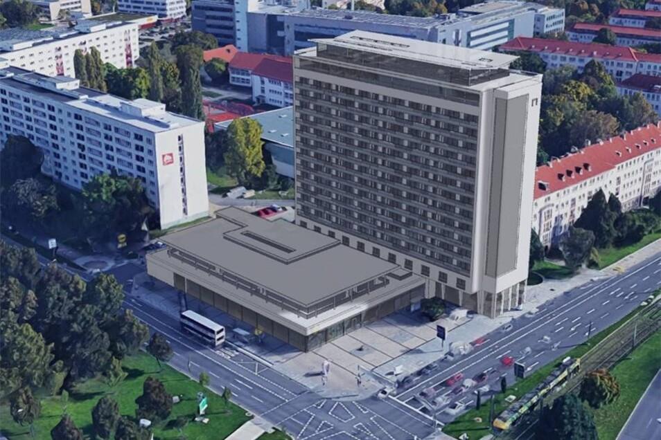 Das soll sich nun endlich ändern: So soll das Gebäude einmal aussehen.