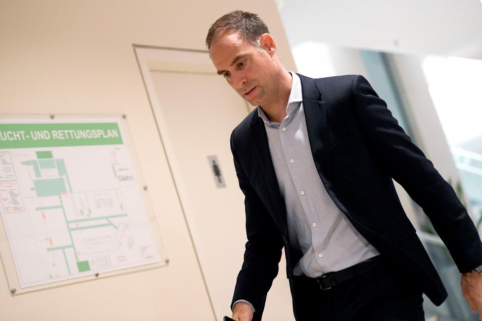 Der Chef geht voran, so ist das bei RB Leipzig. Oliver Mintzlaff tritt in diesen Tagen oft und auskunftsfreudig in Erscheinung.