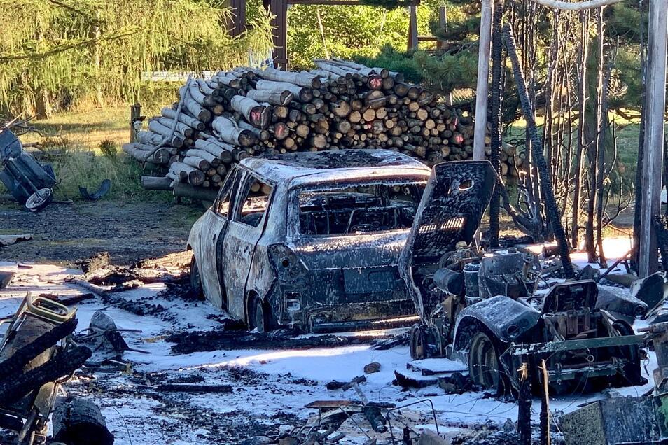 Rund 30.000 Euro Schaden entstand durch den Brand.