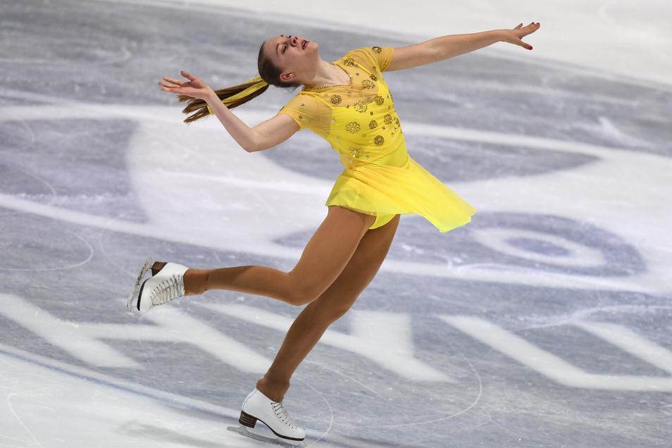 Einer ihrer letzten Wettkämpfe: Lea Johanna Dastich bei der deutschen Meisterschaft im Dezember 2017.