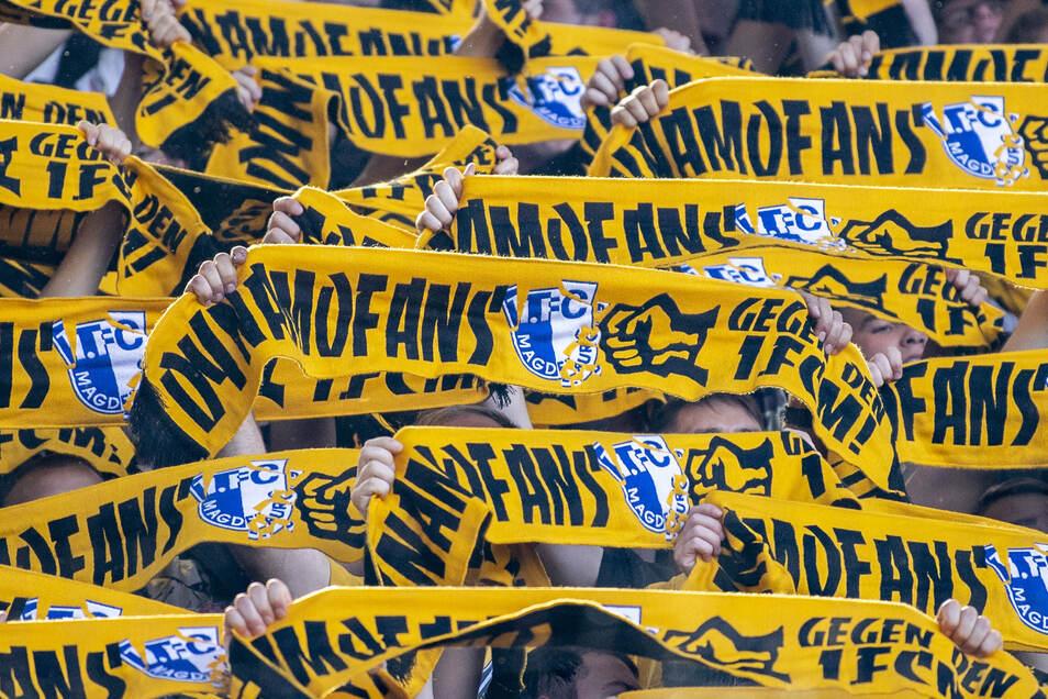 Verbunden in herzlicher Abneigung: Die Rivalität zwischen Dynamo und Magdeburg lebt vor allem unter den Fans.