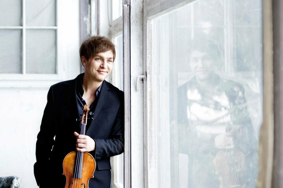 Der international bekannte Bratschist Nils Mönkemeyer ist 2021 beim Kammermusikfest Oberlausitz zu Gast.