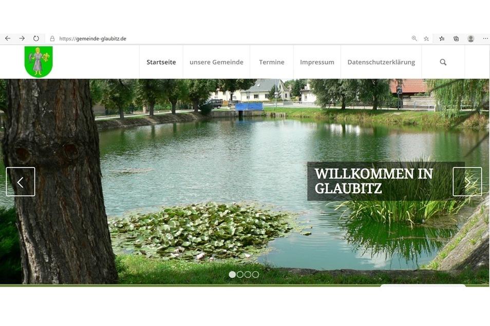 Der neue Internetauftritt von Glaubitz ist modern und einladend.
